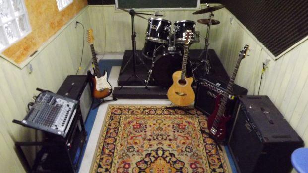 Sala de Violão e Guitarra